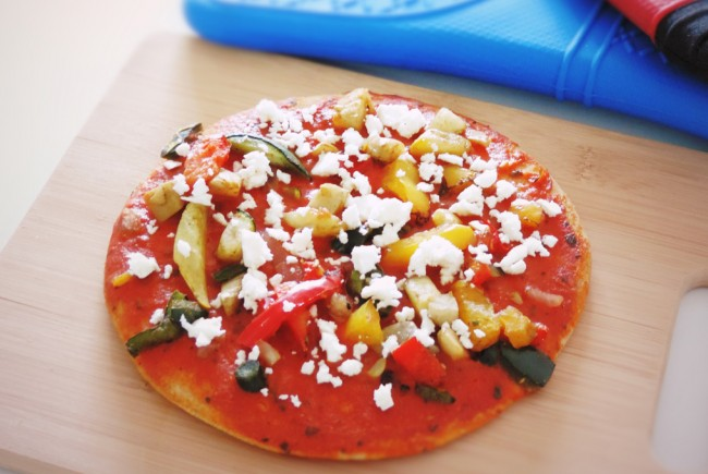 Real Greek Feta Pizza